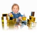 14 Piece Metallic Mini Construction Blocks.Metallic Mini Construction Blocks,TTS School equipment products,TTS sensory pebbles,counting pebbles,yellowdoor,yellow door discount code